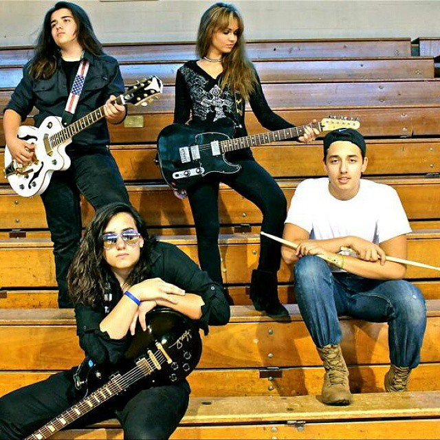 rebelmann band, teen band, hoorag, hoo-rag