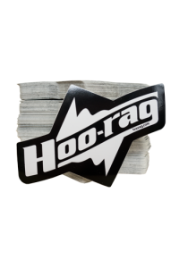 Hoo-rag UV Sticker