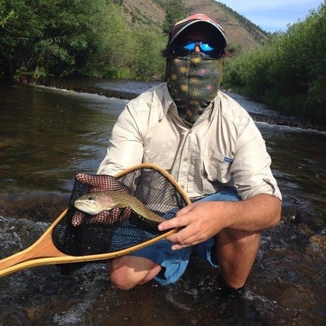 Fishing face masks fishing neck gaiter bandanas hoo rag for Fly fishing sun shirt
