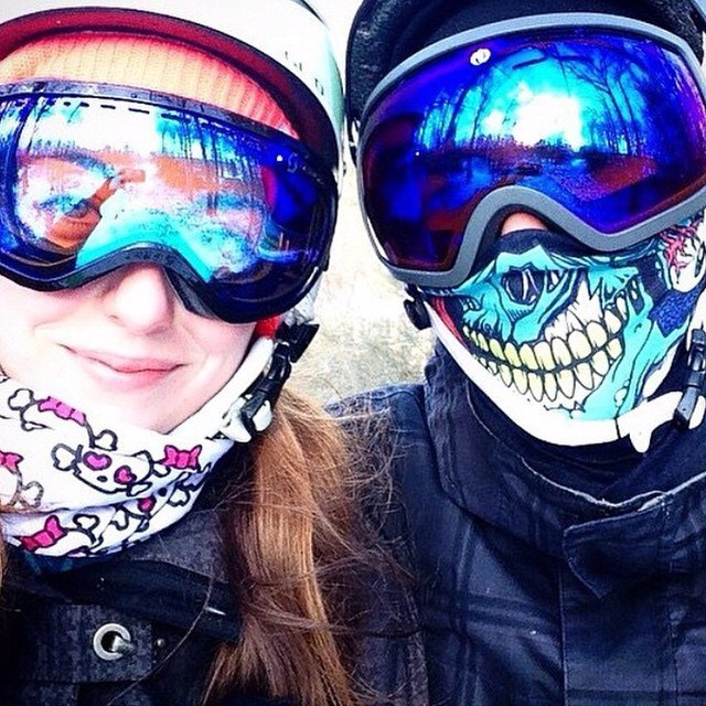 Skull Face Mask Bandanas  a6e4d89907