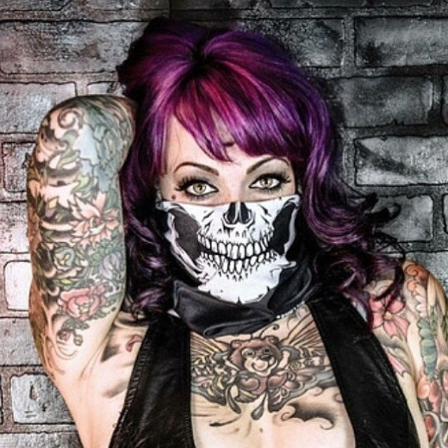 Skull Face Mask Bandanas  8026c6830