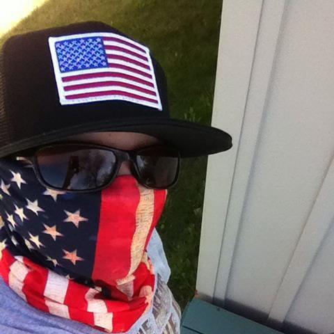 American Flag Hats  de360fa657