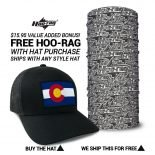 Colorado State Flag Hat | by Hoo-rag, just 23.99