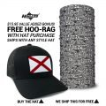 Alabama State Flag Hats | by Hoo-rag, just 23.99