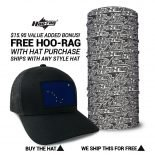 Alaska State Flag Hats | by Hoo-rag, just 23.99