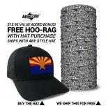 Arizona State Flag Hats | by Hoo-rag, just 23.99