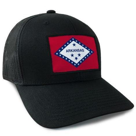 Arkansas State Flag Hats | by Hoo-rag, just 23.99