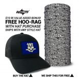 Connecticut State Flag Hat | by Hoo-rag, just 23.99