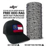 Georgia State Flag Hat | by Hoo-rag, just 23.99