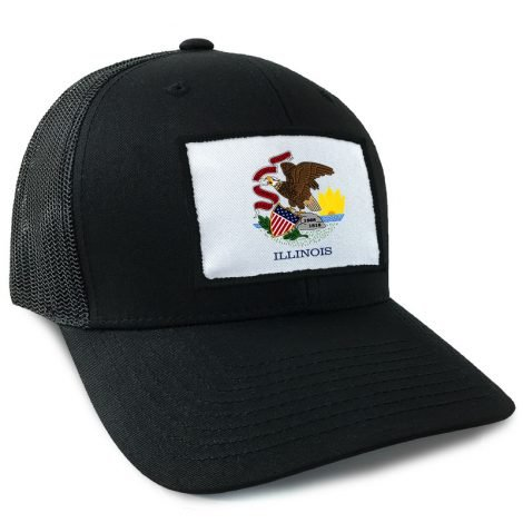 Illinois State Flag Hat | by Hoo-rag, just 23.99