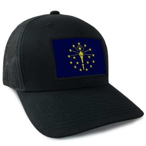 Indiana State Flag Hat | by Hoo-rag, just 23.99