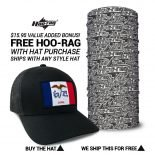 Iowa State Flag Hat | by Hoo-rag, just 23.99