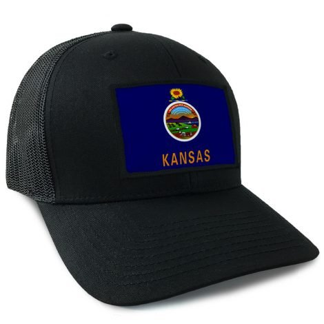 Kansas State Flag Hat | by Hoo-rag, just 23.99