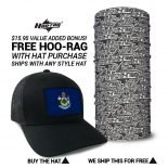 Maine State Flag Hat | by Hoo-rag, just 23.99