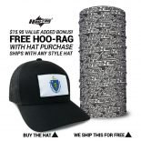 Massachusetts State Flag Hat | by Hoo-rag, just 23.99