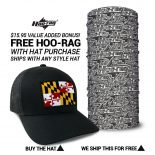 Maryland State Flag Hat | by Hoo-rag, just 23.99