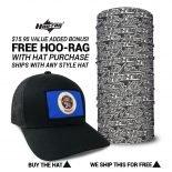 Minnesota State Flag Hat | by Hoo-rag, just 23.99