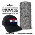 Missouri State Flag Hat   by Hoo-rag, just 23.99
