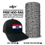 Missouri State Flag Hat | by Hoo-rag, just 23.99