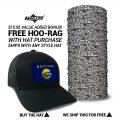 Montana State Flag Hat | by Hoo-rag, just 23.99