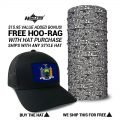 New York State Flag Hat   by Hoo-rag, just 23.99