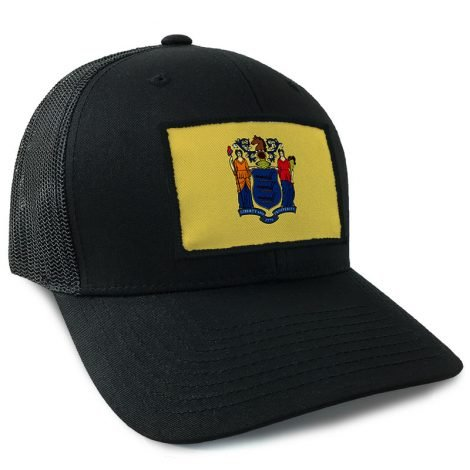 New Jersey State Flag Hat | by Hoo-rag, just 23.99