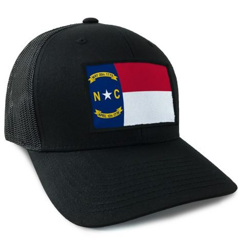 North Carolina State Flag Hat | by Hoo-rag, just 23.99