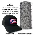 Ohio State Flag Hat | by Hoo-rag, just 23.99