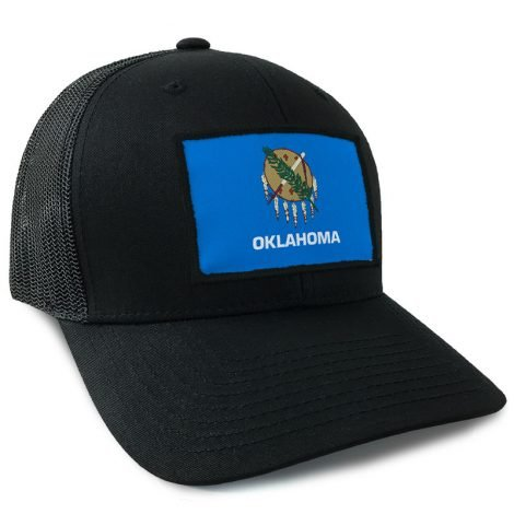 Oklahoma State Flag Hat | by Hoo-rag, just 23.99