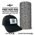 West Virginia State Flag Hat | by Hoo-rag, just 23.99