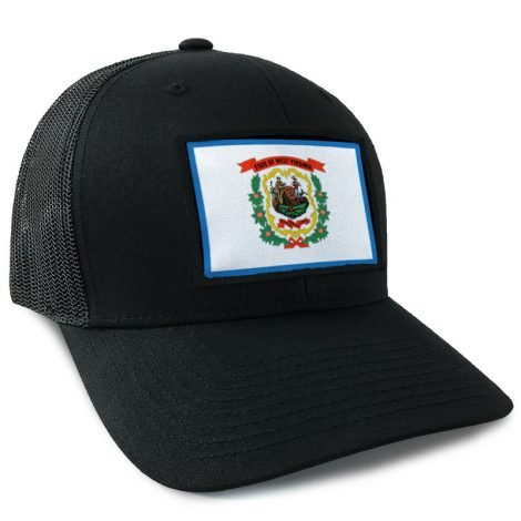 timeless design baa43 c1519 ... clearance west virginia state flag hat by hoo rag just 23.99 dae8a 20f12