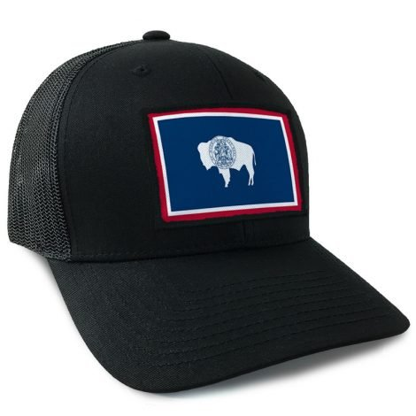 Wyoming State Flag Hat | by Hoo-rag, just 23.99