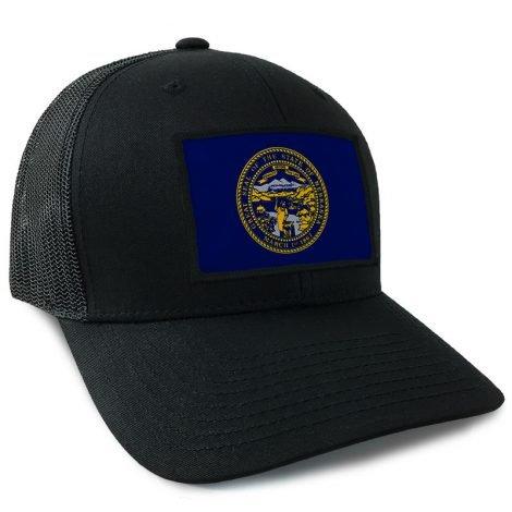 Nebraska State Flag Hat | by Hoo-rag, just 23.99