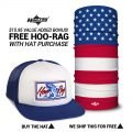 American Flag Tarpon Hat