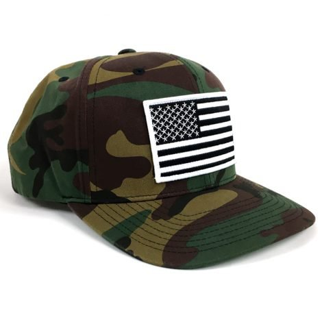 Camouflage USA Hat