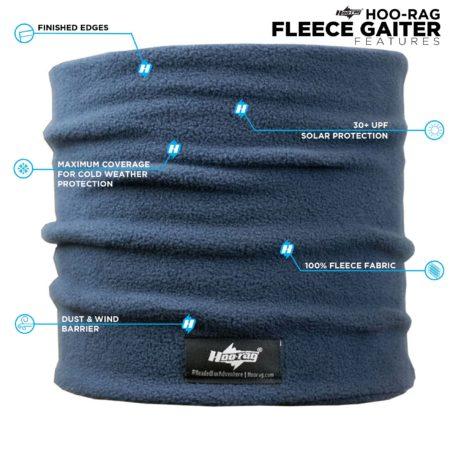 HFG03 Blue-Fleece-Gaiter-Features