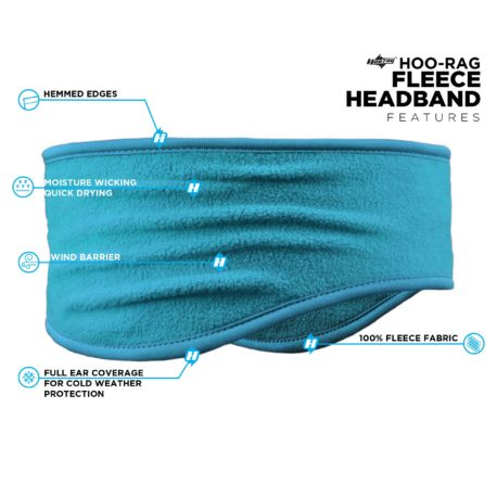 PHB02 Blue Headband Features