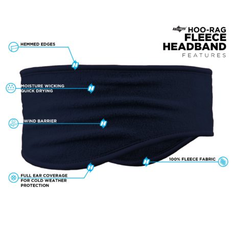 PHB07 Navy Headband Features