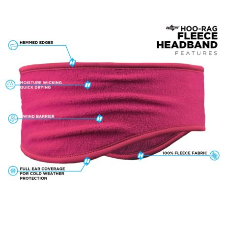 PHB04 Pink Headband Features