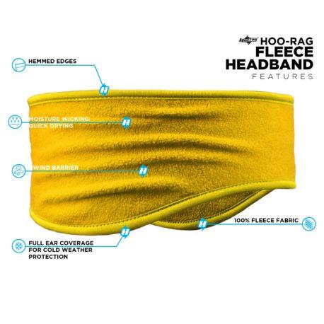 PHB03 Yellow Headband Features