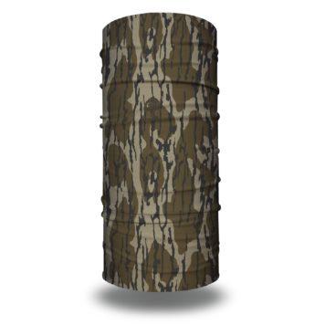 image of tubular bandana in mossy oak bottomland design