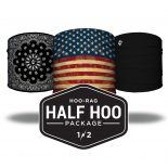 Best Selling paisley flag black Headbands Package Hoorag