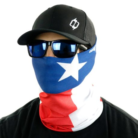 texas flag face mask bandana