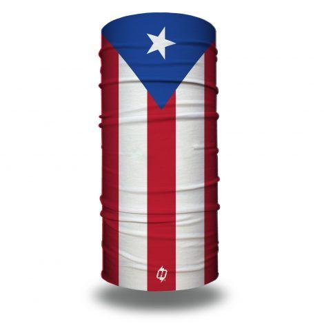 puerto rico flag face mask bandana
