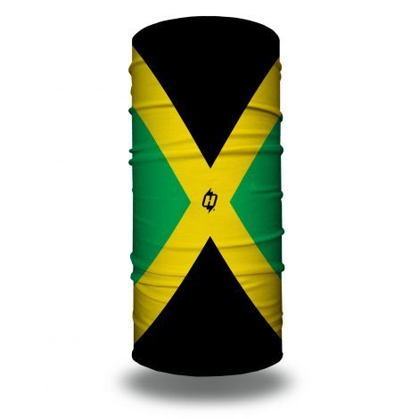 jamaican flag face mask bandan