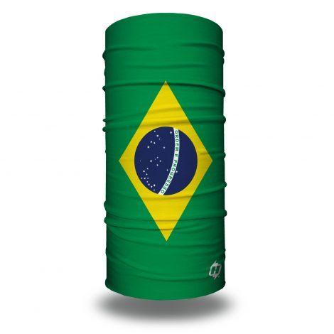 brazil flag face mask bandana