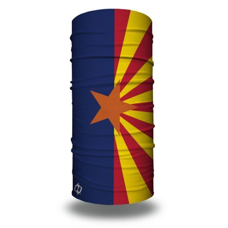 arizona flag face mask bandana