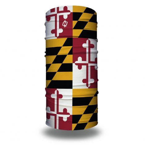 maryland flag face mask bandana