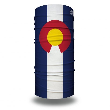 Colorado state flag face mask bandana