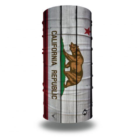 california state flag vintage face mask bandana